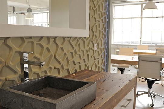 mur 3d décoratif