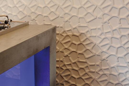 mur décoratif 3d